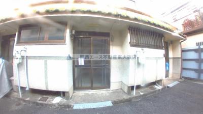 【エントランス】南津の辺町貸家