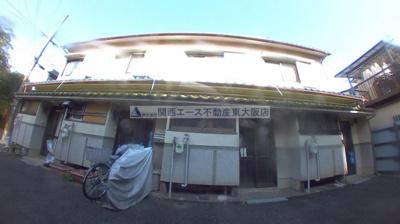 【外観】南津の辺町貸家