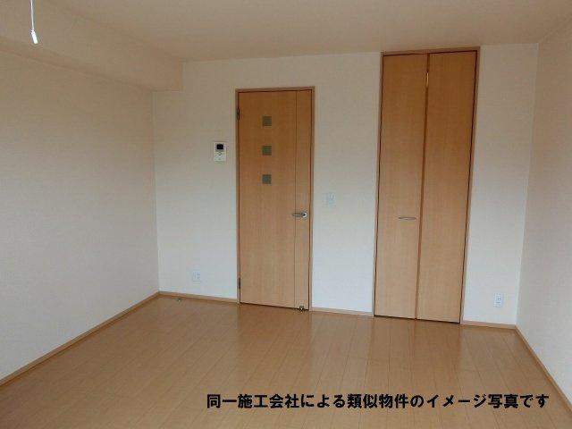河内国分駅 1K 寝室