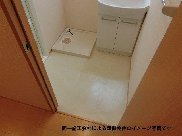 河内国分駅 2K 脱衣所(室内洗濯機置き場)