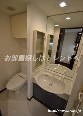 【洗面所】パレステュディオ渋谷本町