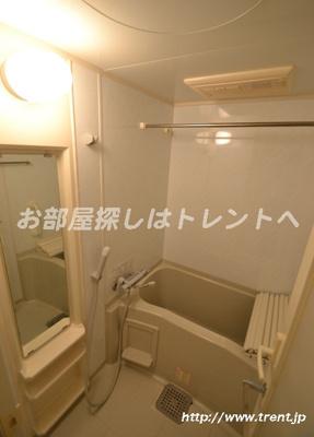 【浴室】パレステュディオ渋谷本町