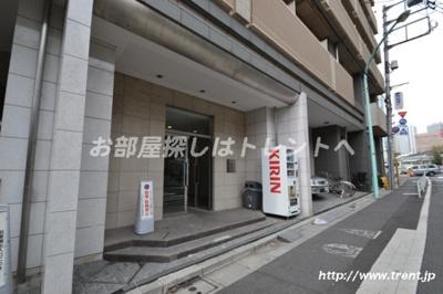 【エントランス】パレステュディオ渋谷本町
