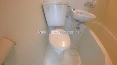 【トイレ】サンフォレスト布施
