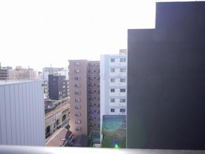 10階バルコニーからの眺望・北西向きです。