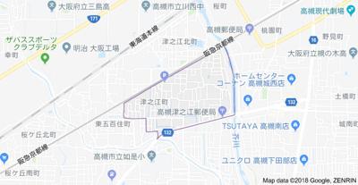 【地図】平誠第一マンション (株)Roots