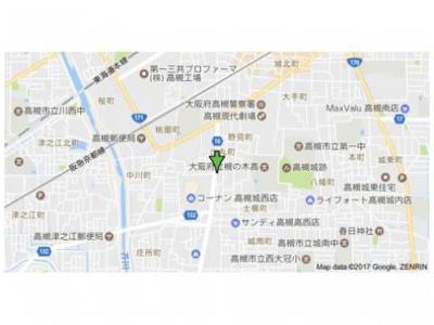 【地図】メゾン北陽