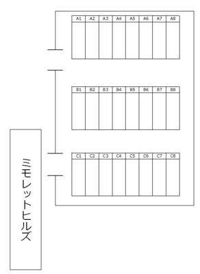 【区画図】上柴町東5丁目駐車場