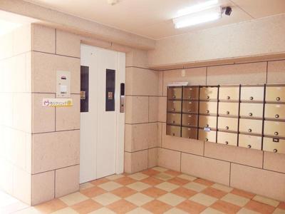 集合ポスト・エレベーター