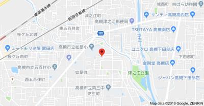 【地図】久保ハウス (株)Roots