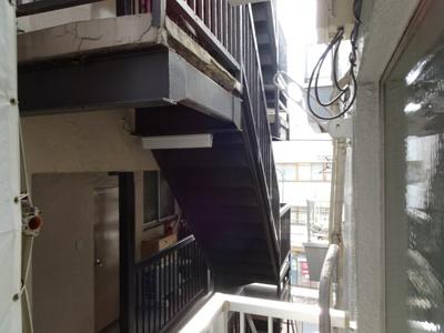 富田ビル バルコニーからの眺望