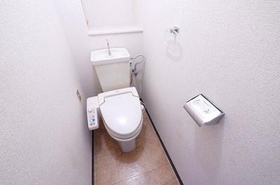 スッキリとしたトイレです。