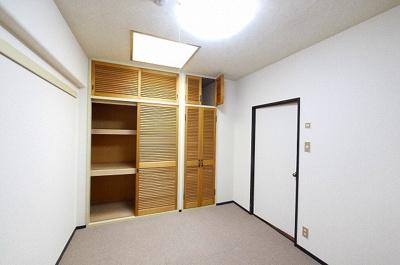 収納スペースもしっかりあるお部屋ですよ。