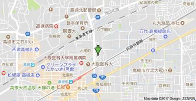 【地図】ぷりんせす八丁畷 (株)Roots