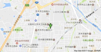 【地図】ウィルモア春日