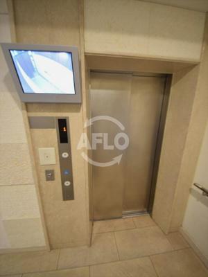 プレミスト新町 エレベーターホール