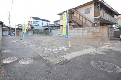 【前面道路含む現地写真】堺市中区深井中町 新築