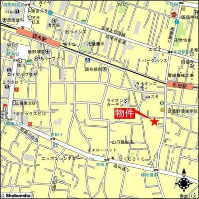 【地図】シャトーレアイリス