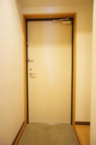 キレイな玄関です。