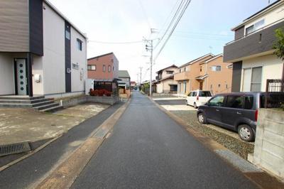 【前面道路含む現地写真】久留米市荒木町荒木 戸建