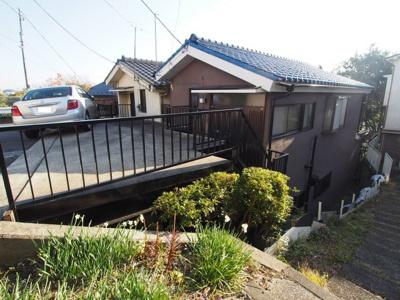 【外観】保土ヶ谷区岩崎町 中古建て