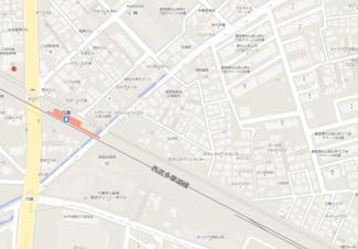 【地図】フタバハイツ