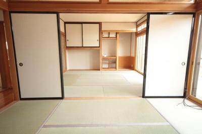 【前面道路含む現地写真】米沢市花沢町1丁目 2階建て中古物件リフォーム済
