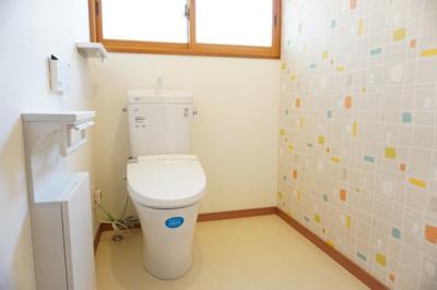 【トイレ】米沢市花沢町1丁目 2階建て中古物件リフォーム済