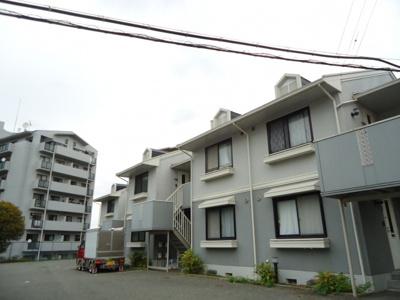【マジェール六甲】【神鉄六甲駅】2階建のハイツです。