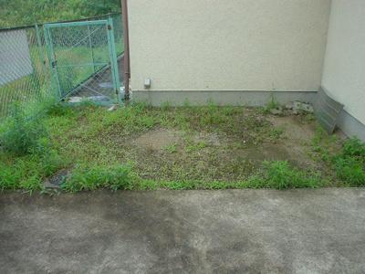 お庭でゆったりと過ごせます