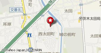 【地図】石田貸家(西太田町)