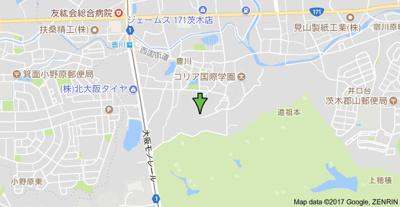 【地図】グリーンハイツ豊川1