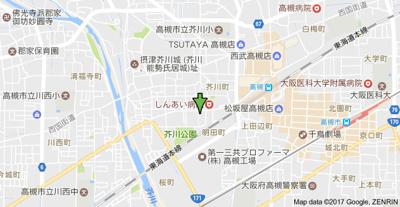 【地図】ジャスミンコート (株)Roots