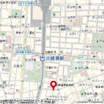 【地図】シャーマ北綾瀬