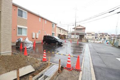 【駐車場】上野町アパートC棟