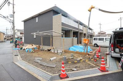【外観】上野町アパートC棟