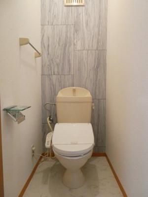 温水シャワートイレ付