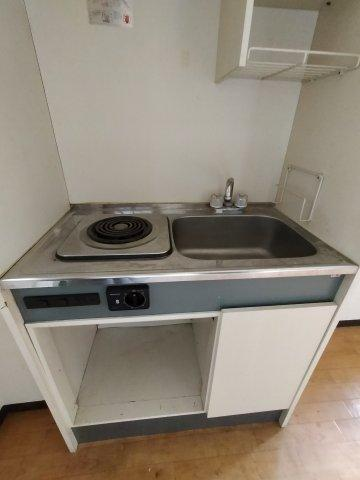 【キッチン】プレアール瓢箪山