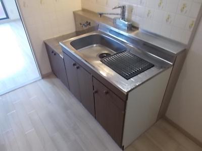 【キッチン】グローリアス城Ⅱ