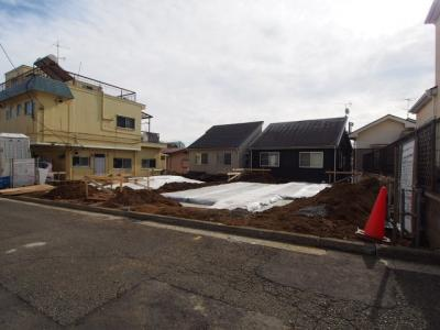 【外観】保土ヶ谷区釜台町全2棟 新築戸建て