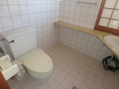 【トイレ】粒江庭付き平屋