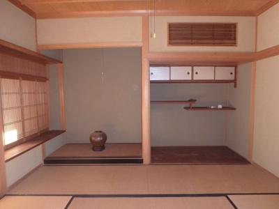 【和室】粒江庭付き平屋