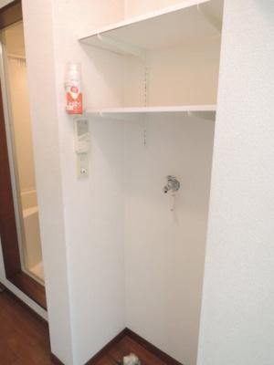 洗濯機置場※写真は203号室使用