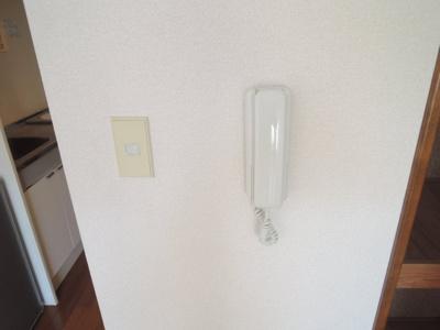 インターホン※写真は203号室使用