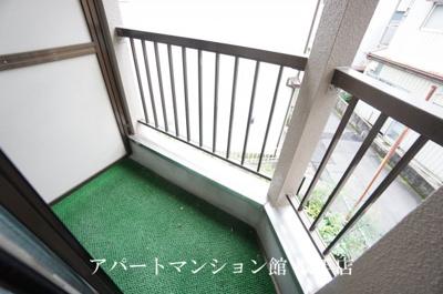 【バルコニー】黒沢アパート