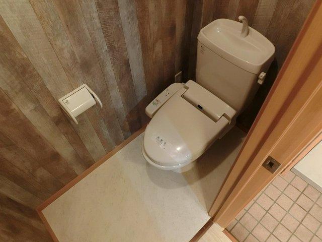 スカイマンション トイレ