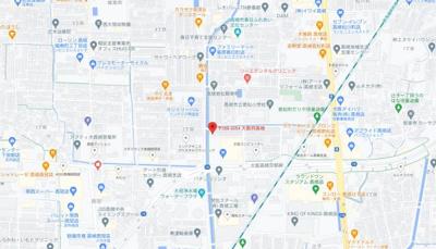 【地図】シャトー若松 (株)Roots