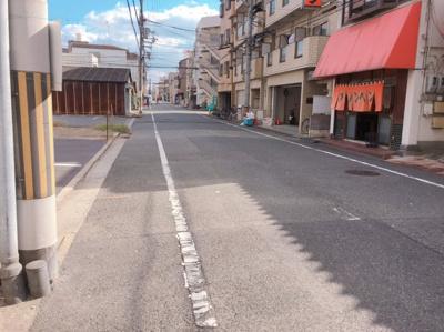 南海本線「堺」駅より8分 約24坪!飲食店可!前面バイク、自転車スペースあり!店舗事務所