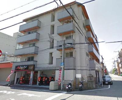 【外観】南海本線「堺」駅より8分 約24坪!飲食店可!前面バイク、自転車スペースあり!店舗事務所