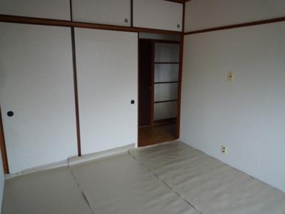 【寝室】コーポ山路